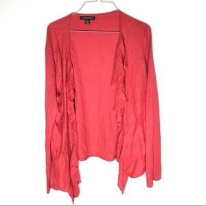 🔥 3/$20 - Designer Original - ruffle cardigan